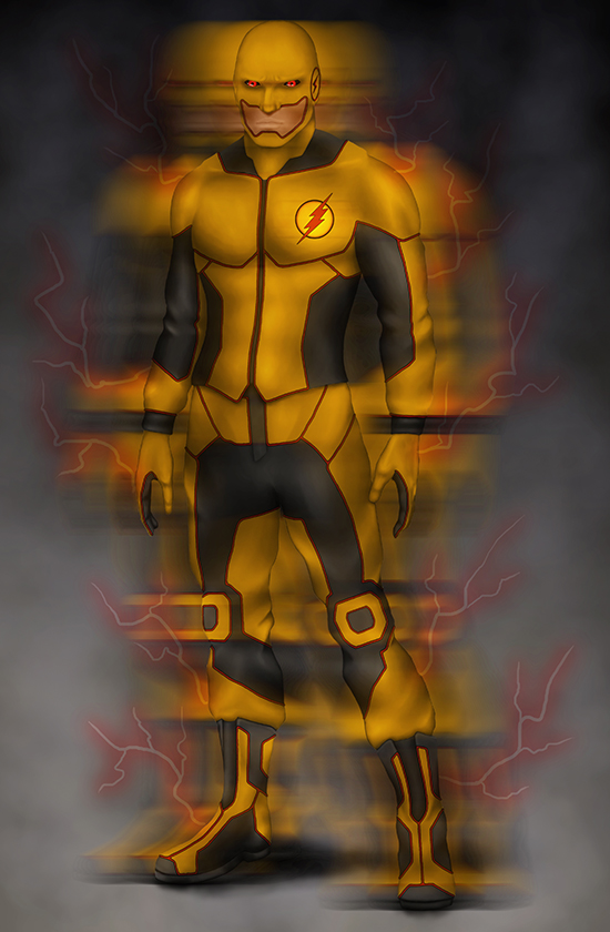 Professor Zoom Reverse Flash By T McG
