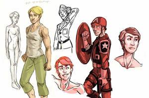 FemCap Doodles by gambitgurlisis