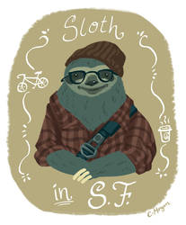sloth - sketchdailies