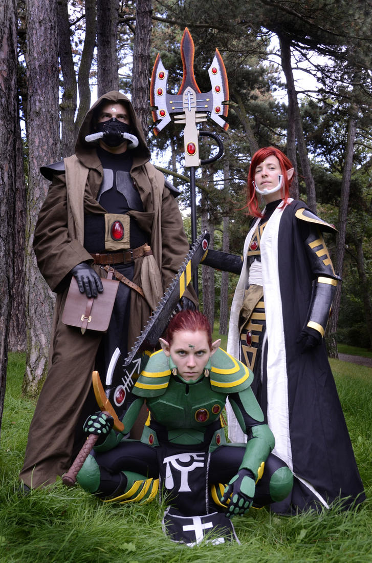 W40K: Eldar Cosplay by Mondlied