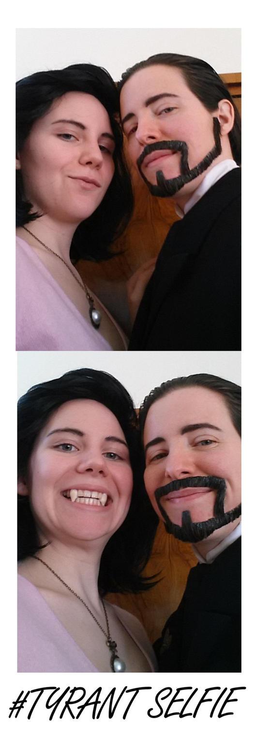 Tyrant Selfies by Mondlied