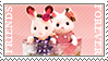 Sylvanian friends stamp by MaryMiao