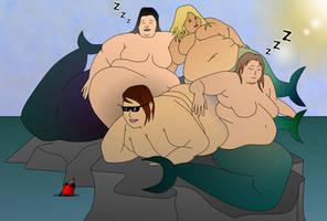 Massive Modern Mermaids by BigFatBellies