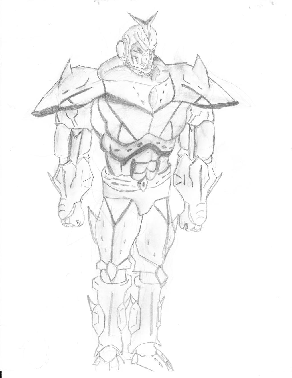 Gundam Sketch by exiled117