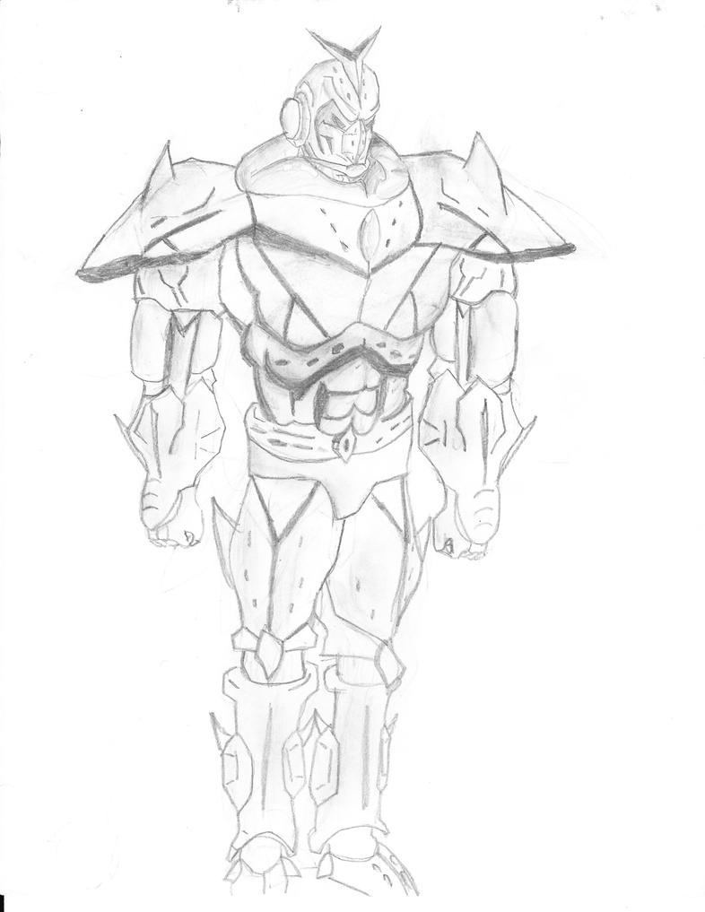 Gundam Sketch by exiled117