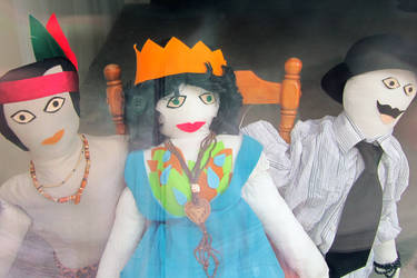 primitive Venezuelan dolls
