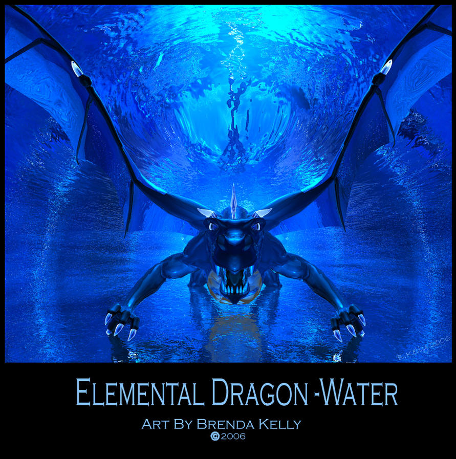 Elemental Dragon-Water by Truley-Unruly