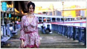 Walk on the Bridge by Kooki99