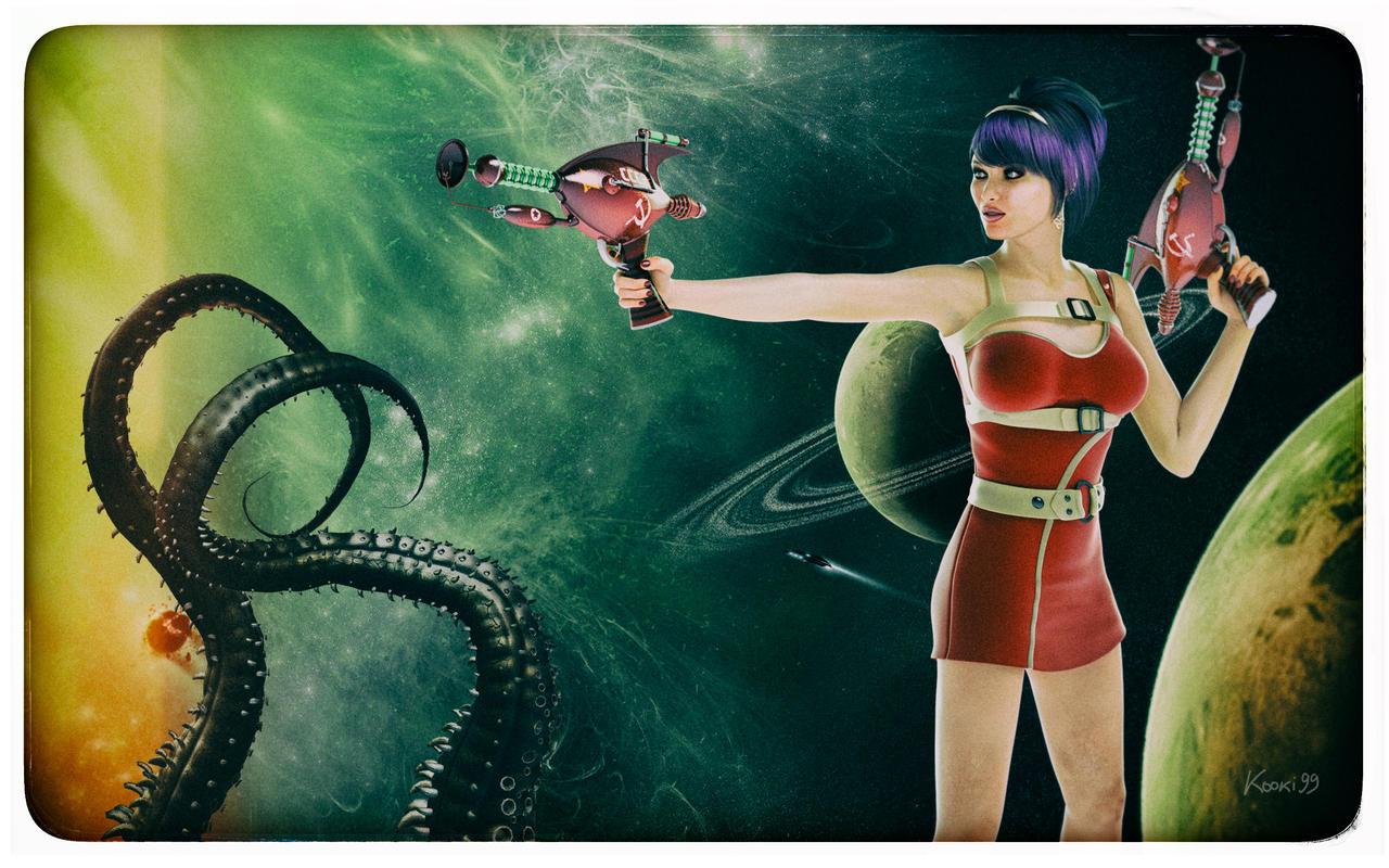 Retro Sci Fi By Kooki99