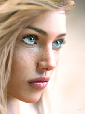 Lydia closeup by Kooki99