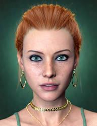 Evonne New Character for Genesis 8.1