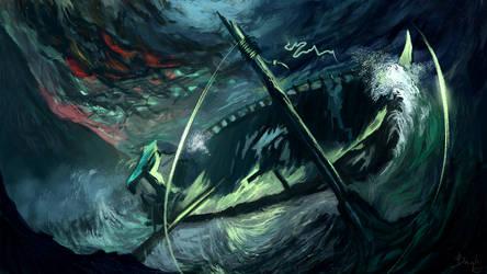 Shipwreck by PavelBaghy