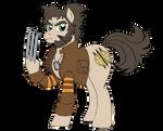 Mutants and Kindness - Logan (Pony) by edCOM02