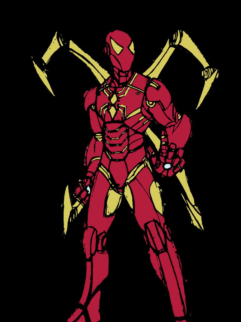 Iron spider color request by edcom02