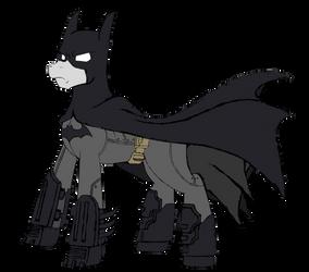 Batmane - The Dark Knight of Equestria by edCOM02
