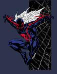 Spider-Man 2099 by Sheldon Goh (Colored)