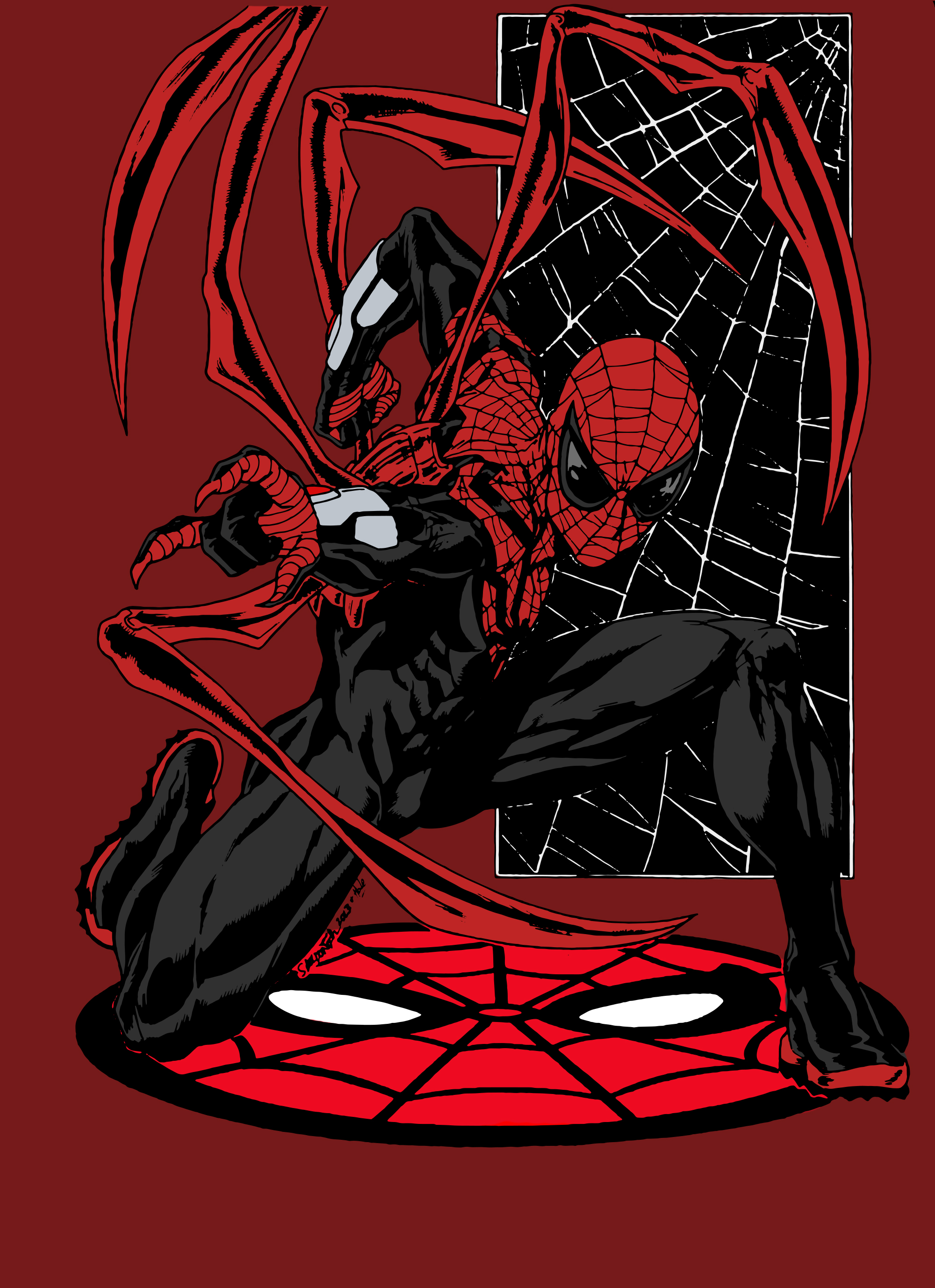 Superior Spider-Man by Sheldon Goh (Colored) by edCOM02