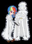 Moon Knight and Rainbow Knight