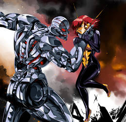 Ultron and Wasp - DON'T COMPARE ME WITH PYM!!!