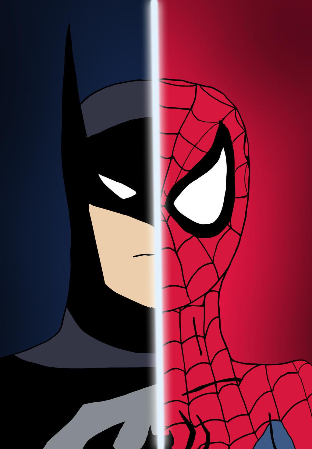 Batman spider man by edcom02 on deviantart - Et spider man ...