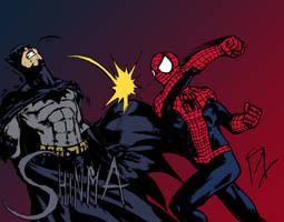 Spider-Man vs. Batman by MatiasSoto