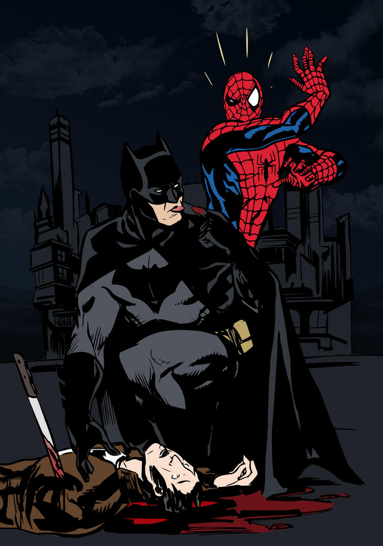 compare and contrast batman spiderman Hello fellow dc fans i'm writing a paper in which i compare and contrast batman and superman to do so, i have chosen three aspects of their.