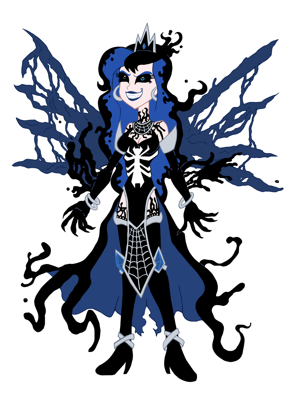spiders and magic venom luna by edcom02 on deviantart