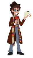 Equestria Girls Doctor Who: Fourth Doctor