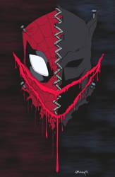 Spider-Man/Batman by Joe Mulvey by edCOM02