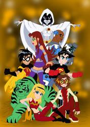 The New Teen Titans by edCOM02