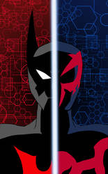 Batman Beyond/Spider-Man 2099 by edCOM02