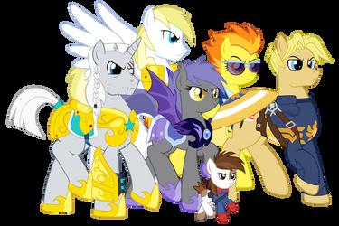 The Equestrian Howling Commandos by edCOM02