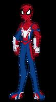 Insomniac's Spider-Man (EG-Styled) by edCOM02