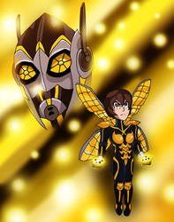 MHA:AOU - The Wasp by edCOM02