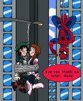 Deku x Uraraka - Spider Wingman by edCOM02