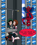 Deku x Uraraka - Spider Wingman