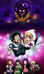 MHA/Spider-Gwen: Heroes Are Born Ready by edCOM02