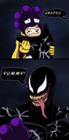 Marvel x MHA - Grapes...Yummy! by edCOM02