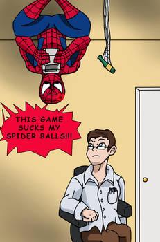 AVGN - THIS GAME SUCKS MY SPIDER BALLS!!!