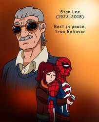 Rest in Peace, True Believer (Tribute to Stan Lee) by edCOM02