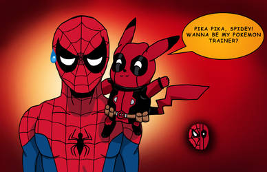 Pika Pika, Spidey! by edCOM02