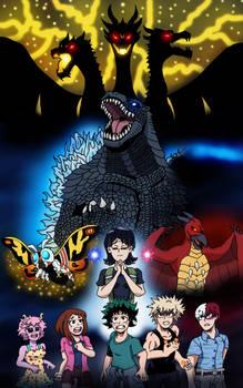 My Hero Academia: Godzilla! King of the Monsters! by edCOM02