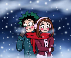 Deku x Urakaka - Close Warmth by edCOM02