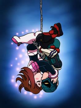 Spider-Deku x Uravity - Upside Down Kiss by edCOM02