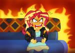 Sunset's Gaming Rage by edCOM02