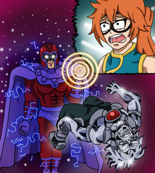 MHA/X-Men - The Master of Magnetism by edCOM02