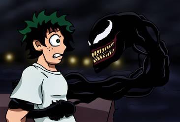 Deku Meets Venom by edCOM02