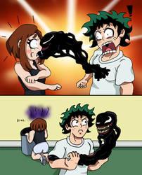 MHA/Venom - You Dirty Parasite! by edCOM02