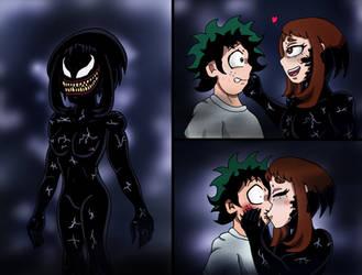 She-Venom Uraraka by edCOM02