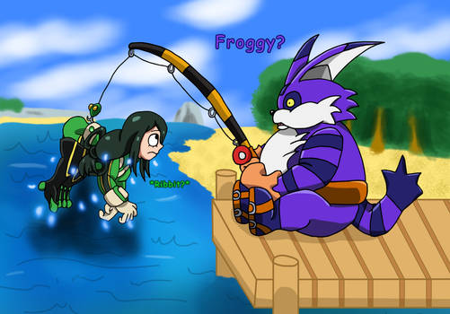 Big Catches Froppy by edCOM02